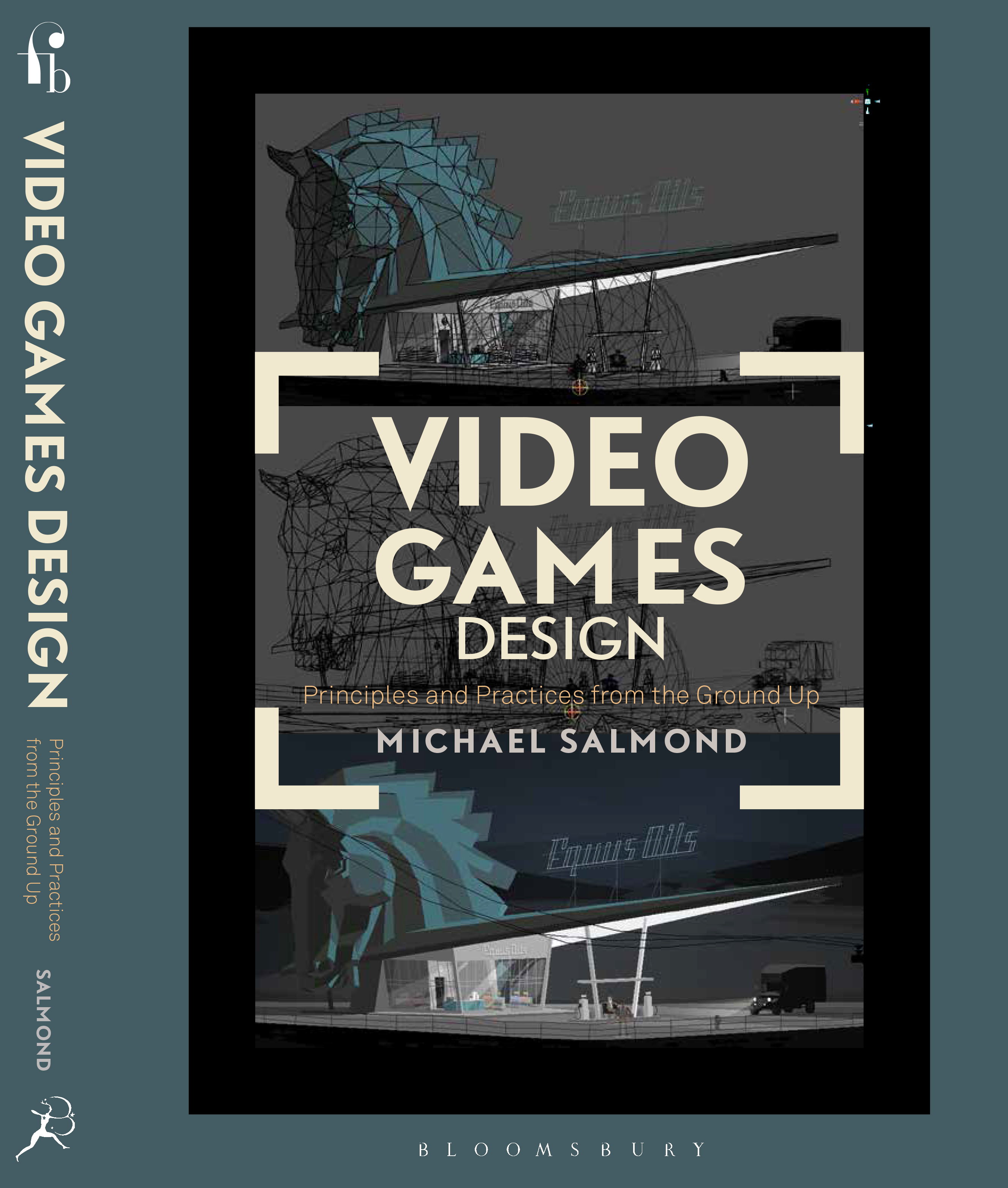 Mike Salmond Portfolio Draft Cover For My New Book - Game design portfolio